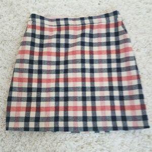 Boden /British Tweed Mini Skirt